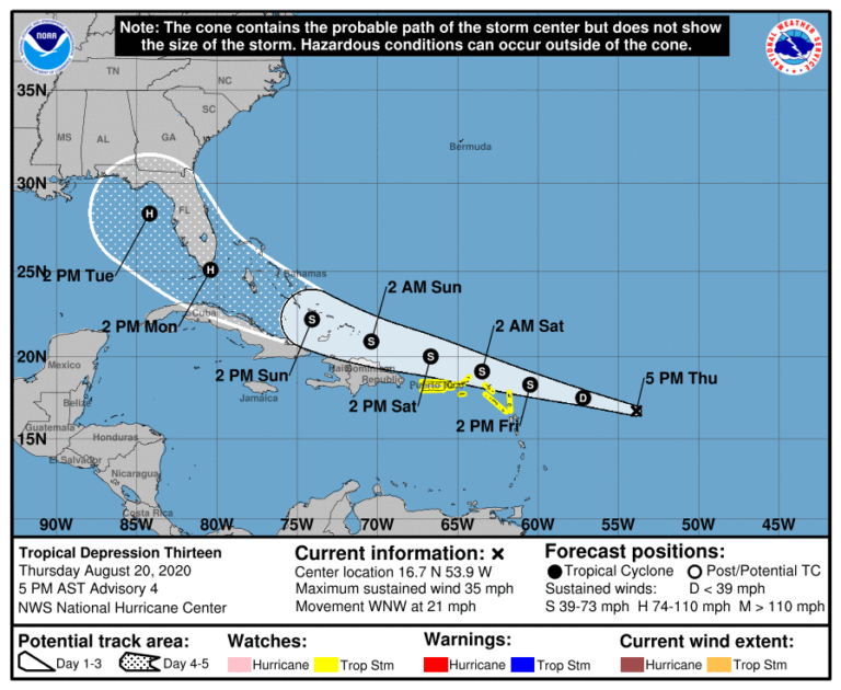 Sandbag Distribution Ends Friday as TD 13 Approaches
