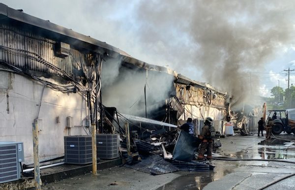 Daryl George: Center Is 'A Total Loss,' Hydrants Were Not Turned Off