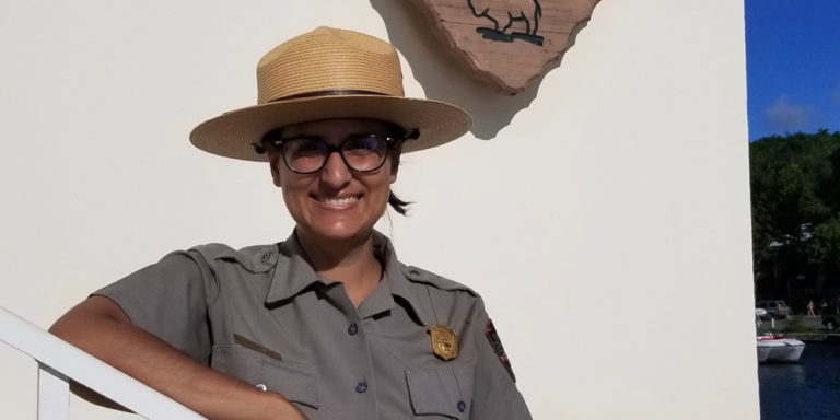 Sabrina Diaz Begins Six-Month Assignment at V.I. National Park