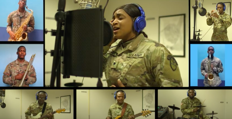 Watch: V.I. National Guard Army Band Performs the Virgin Islands March