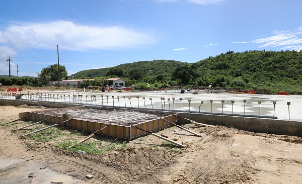 Public Works Breaks Ground on New VITRAN Facility on St. Croix