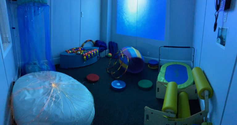 Coral Reef Academy Opens Its Sensory Room