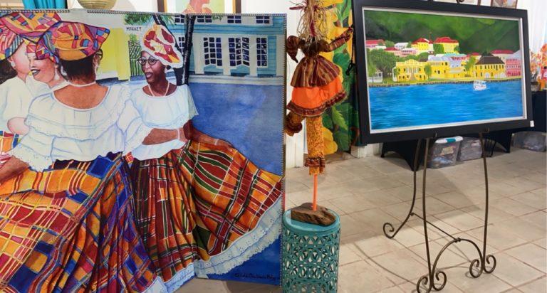 Artists Showcase Their Work as Christiansted's Art Thursday Returns