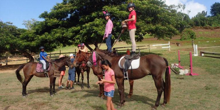 St. Croix Pony Club Celebrates Halloween with Costumed Rides