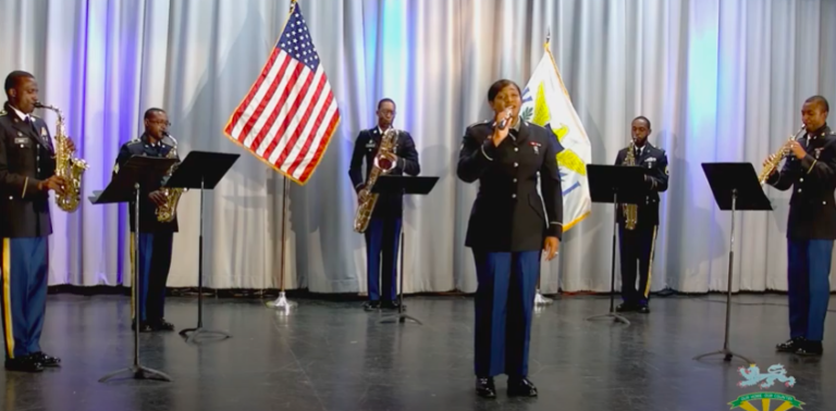 Watch: V.I. National Guard Army Band Performs in Honor of Veterans Day