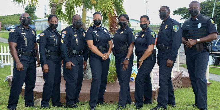 V.I. Police Department Unveils New Uniforms