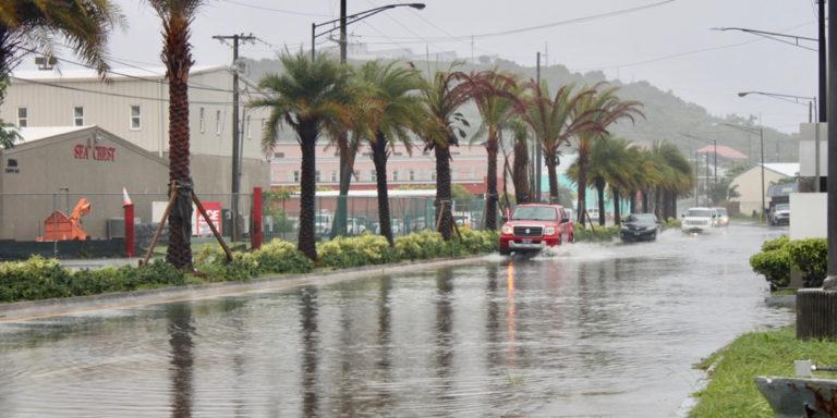 Heavy Rainfall Prompts VITEMA Flood Watch Warning