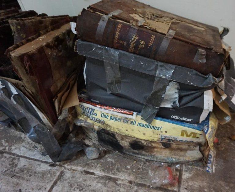Smithsonian Team Restores Hurricane-damaged Legislative Records and Archives