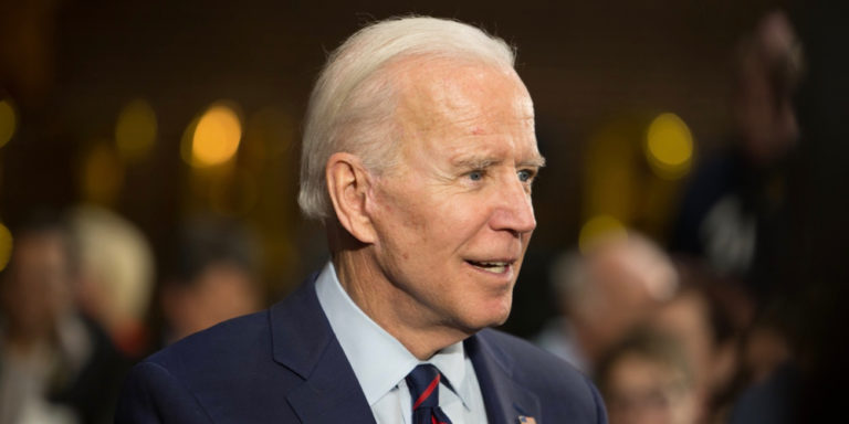 Reporter's Notebook: A Not-Very-Close Encounter with Joe Biden