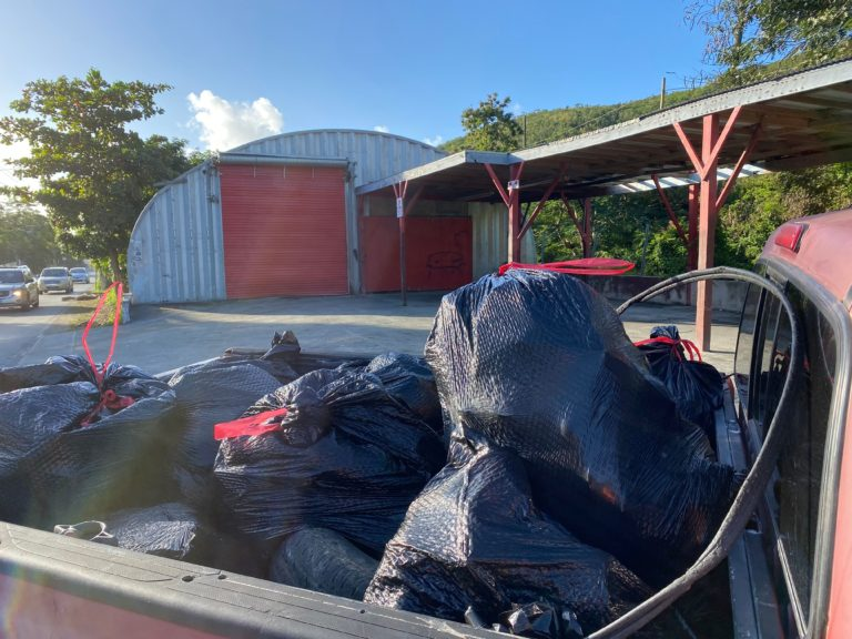 Volunteers Clean Up 800 Bags of Trash on St. Thomas