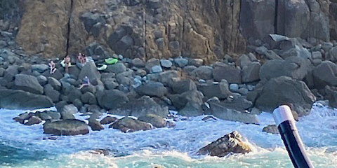 Coast Guard Rescues Five Stranded Kayakers near Caret Point