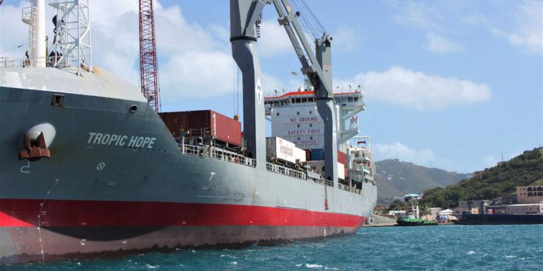 Crown Bay Cargo Terminal Expansion Work Begins this Year