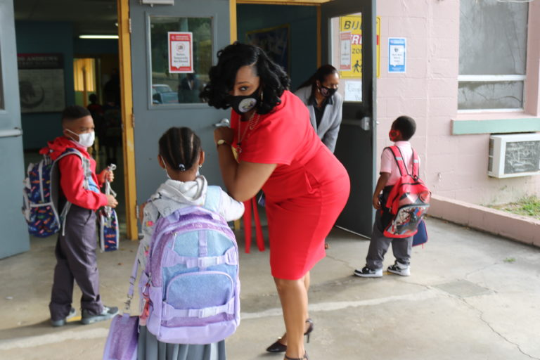 Governor Tours STX Schools on First Day Back