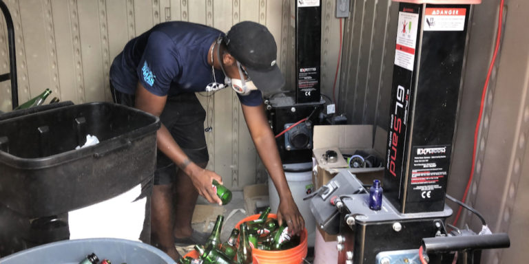 Success and Challenges are Teammates in Race to Recycle Glass