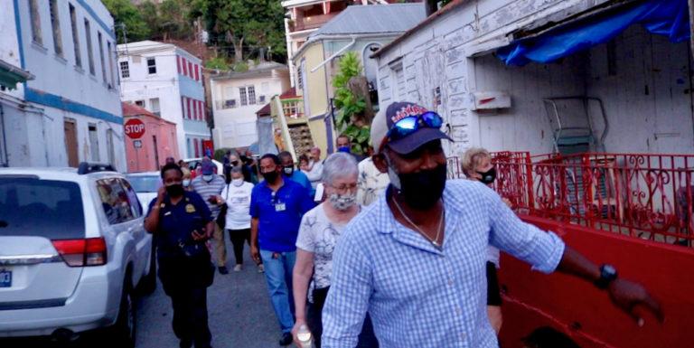 Garden Street Walkthrough Continues Community Policing on STT