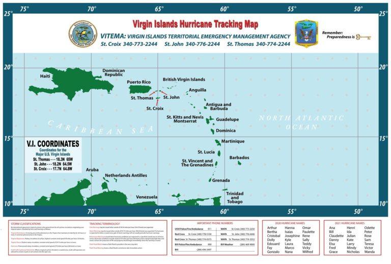 VITEMA to Distribute Atlantic Hurricane Tracking Maps for 2021
