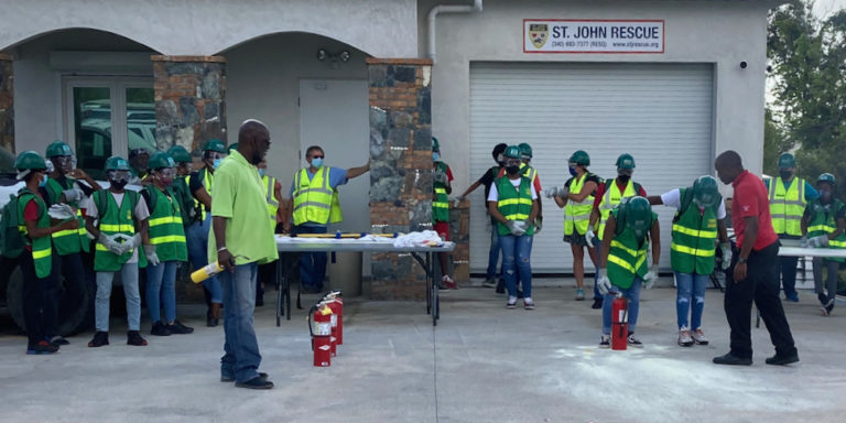 St. John Youth and Adults Receive Emergency Training