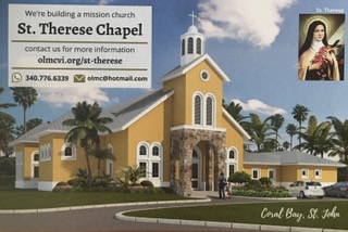 STJ Catholic Church Holds Auction to Build Chapel and Community Center in Coral Bay