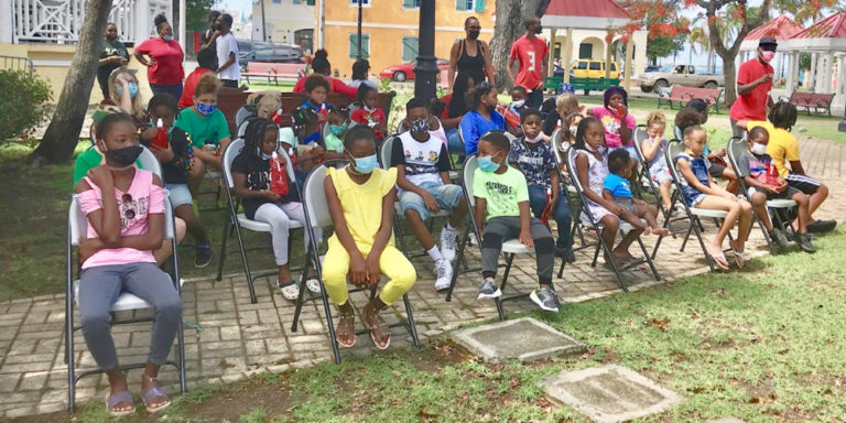 Bookmobile Brings Story Time on Wheels to Frederiksted