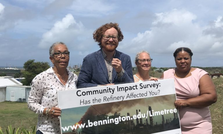Survey Seeks Residents' Input on Recent Limetree Emissions