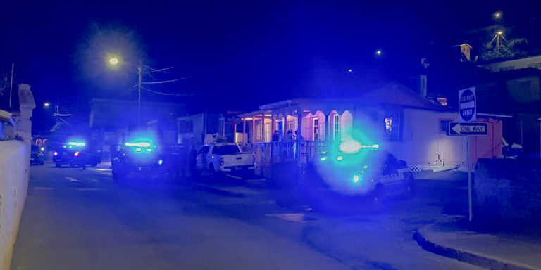 STT Man Treated for Wound After Being Shot by Stranger