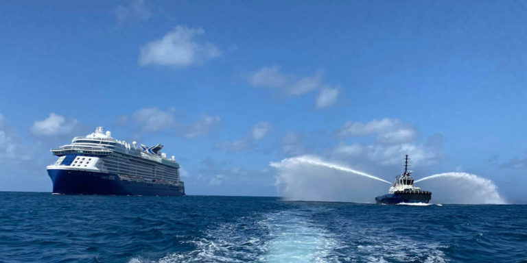 Celebrity Edge Brings First Cruise Passengers to USVI in 15 Months