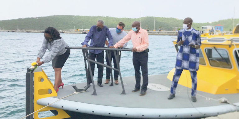 VIPA Officials Encourage Marine Industry as New Pilot Boat Hits the Water