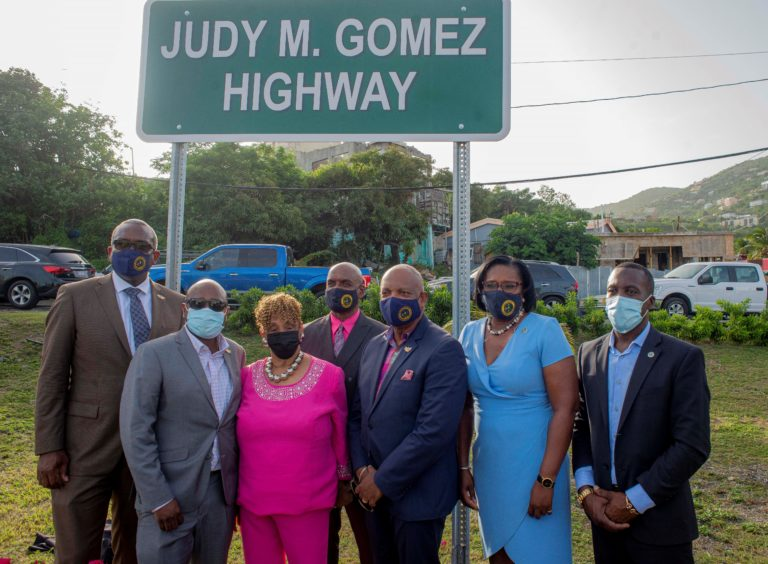 Highway Renamed at Ceremony to Honor Judy M. Gomez Esq.