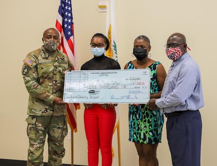 V.I. National Guard Association's 2021 Scholarship Recipient Is McKayla Collins