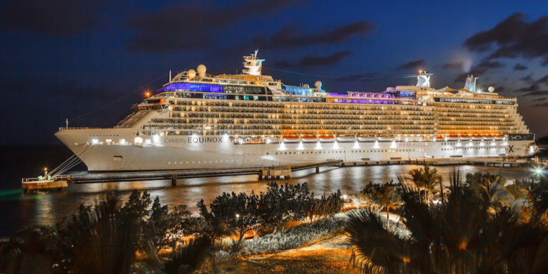 Cruise Ship to Call on STX Wednesday After a Year-and-a-Half Lull