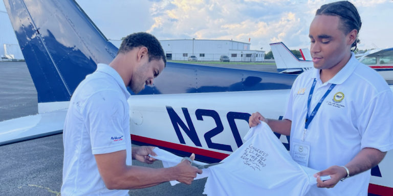 STX 18-year-old Selected Out of Thousands to Attend Flight Academy