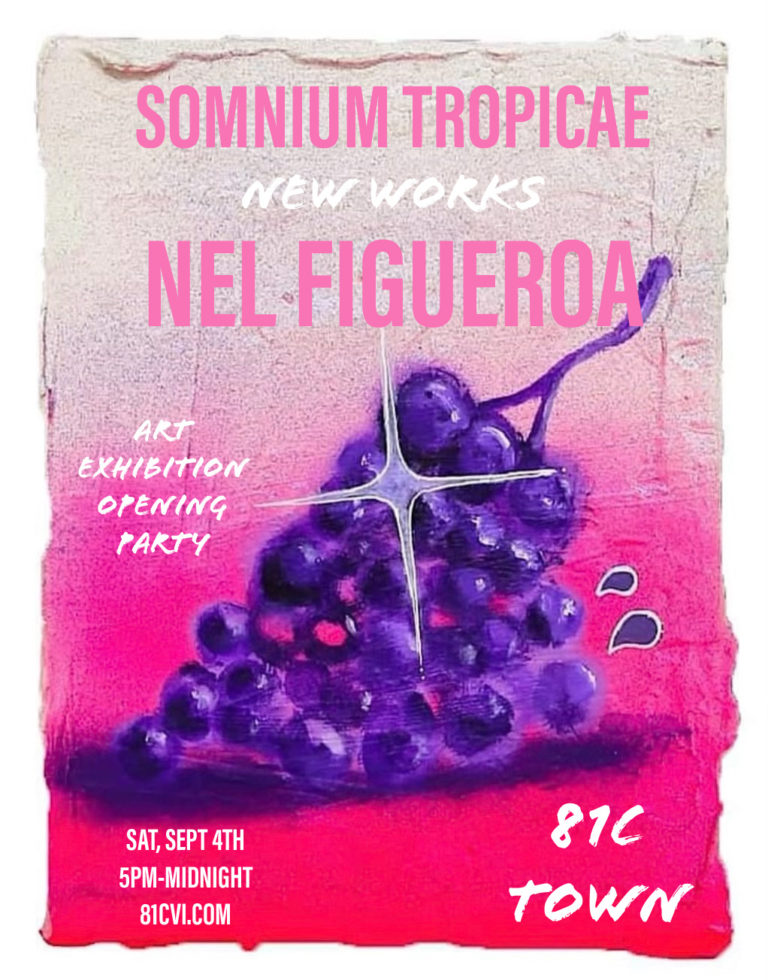 81C Gallery To Exhibit Paintings by Nel Figueroa on Sept. 4