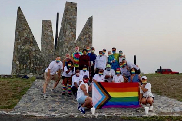 Group Supports LGBTQIA+ Community with Sunrise Walk to Point Udall