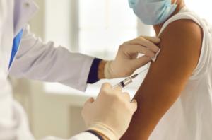 COVID-19 vaccine, vaccination, needle, doctor