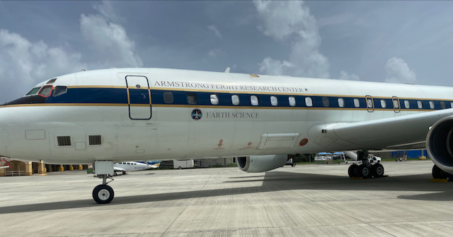 NASA Flying Out of St. Croix to Conduct Research of the Caribbean and Atlantic