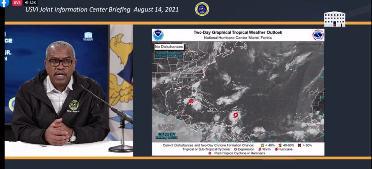 'Stay Dry and Stay Safe' as TS Grace Nears, Says Bryan