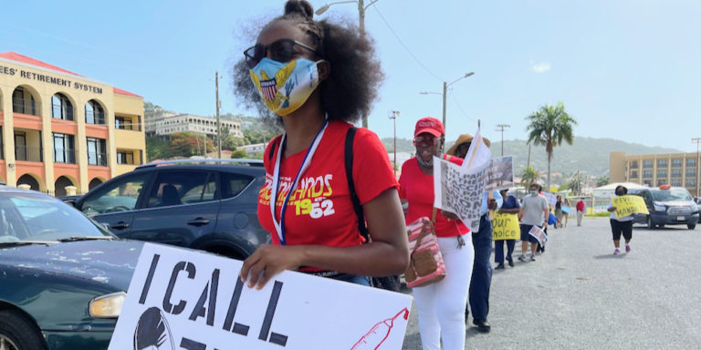 Protesters Oppose Vaccine Mandate While UVI Admins Stress Community Stewardship