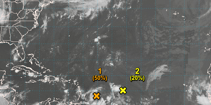 Approaching System May Be a Tropical Depression by Tuesday
