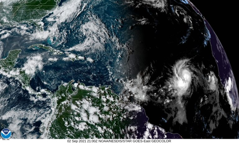 Hurricane Larry Strengthening, Expected to Turn North