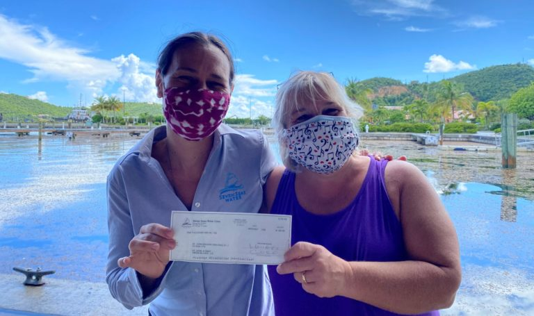 Seven Seas Water Gives Back to the Community