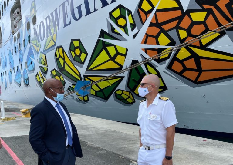 WICO Welcomes First Ship Since Pandemic Began