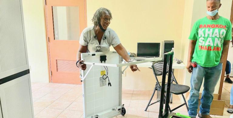 Coalition Distributes First 20 Portable Solar Generators in Savan