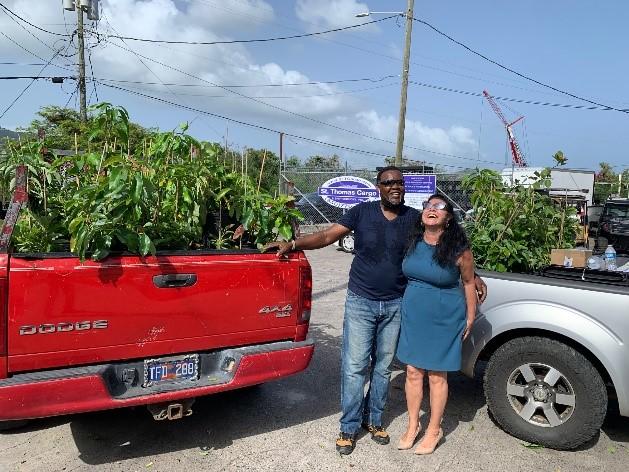 Program Distributes 850 Fruit Trees in Bid to Boost Food Security