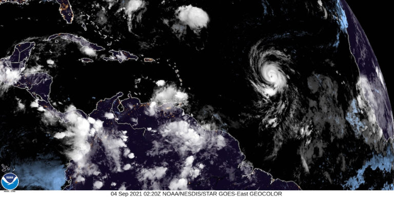 Hurricane Larry is 'Impressive,' But Not a threat to the Virgin Islands