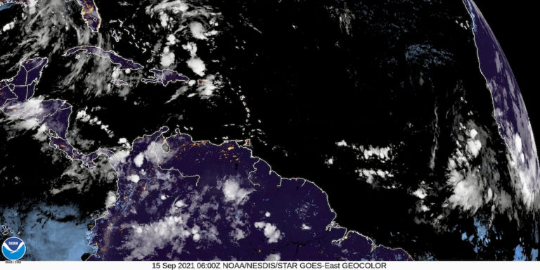 System Moving across Atlantic Likely Developing into Tropical Depression
