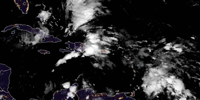 Invest 93-L Expected to Bring Robust Showers as It Passes USVI on Wednesday