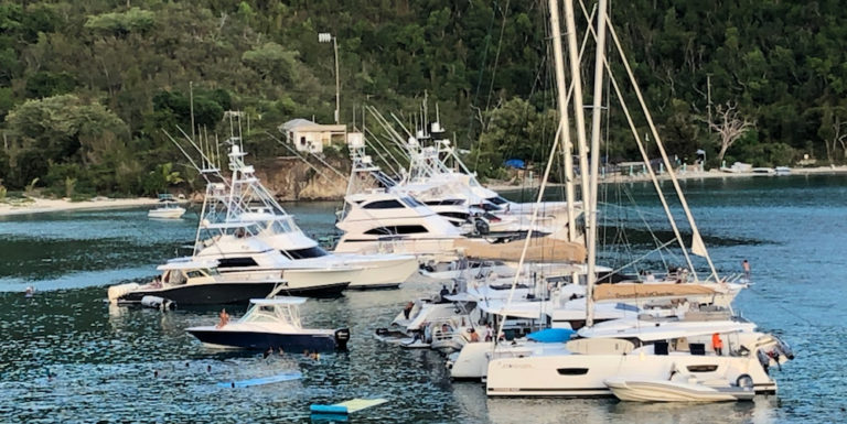Boating in the V.I., Part 4: Pandemic Leads to Crowding at USVI Anchorages